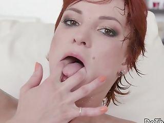 Anal Sex, Big Black Cock, Cuckold, Interracial, Redhead, Shy, Solo, Wife,