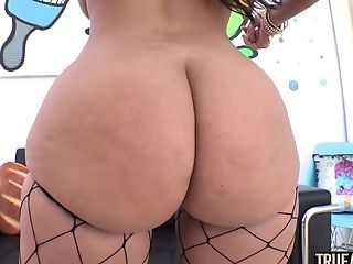 Amateur, Anal Sex, Ass, Big Cock, Big Tits, Brunette, Creampie, Juicy, Latina, Oiled,