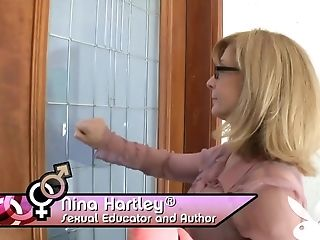 Amazing, Nina Hartley, Pornstar, Reality, Stockings,