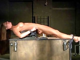 BDSM, Big Tits, Blowjob, Bold, Bondage, Brunette, Caucasian, Chained, Couple, Cumshot,