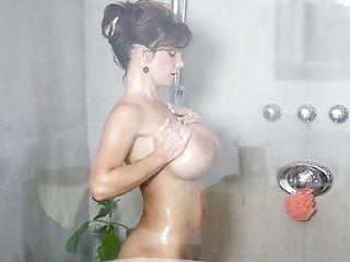 Big Tits, Deauxma, Masturbation, MILF, Pussy, Shower, Teasing,