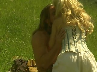 Big Tits, Blonde, Carmen Luvana, Cowgirl, Fingering, Hardcore, Long Hair, Outdoor, Shaved Pussy, Stockings,