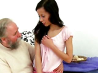 Anal Sex, Blowjob, Brunette, CFNM, Cum On Tits, Cumshot, Femdom, Handjob, Housewife, Kitchen,