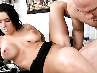 Ass Licking, Ball Licking, Balls, Blowjob, Bold, Brunette, Choking Sex, Cum In Mouth, Cum On Tits, Deepthroat,