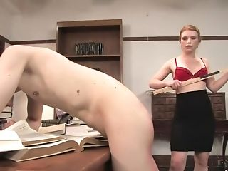 BDSM, Femdom, Librarian, Madison Young, Mature, Pain,