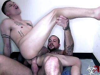 Anal Sex, Clinic, Couple, HD, Hospital, Muscular,