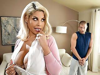 Anal Sex, Babe, Big Ass, Big Tits, Blonde, Cheating, Couple, Creampie, Fake Tits, Footjob,