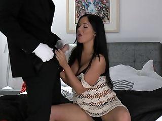 Angelica Heart, Boyfriend, Couple, Long Hair, Natural Tits, Pornstar, Posing, Titjob,