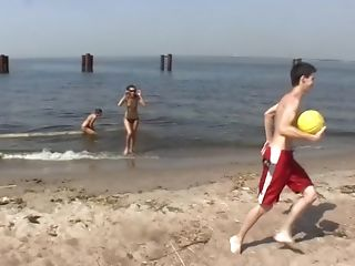Beach, Brunette, Dasi West, HD, Thick Cock,