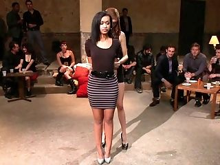 Abuse, Bdsm, Schoonheid, Bondage, Brunette, Emo, Vernedering, Model, Princess Donna, Mager,