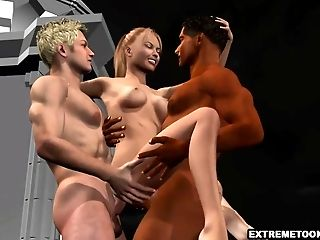 3d, Babe, Double Penetration,