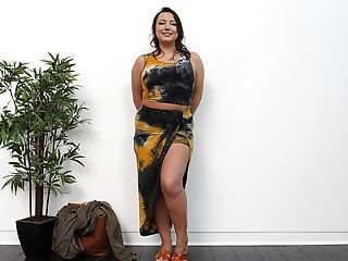 Big Ass, Big Tits, Brunette, Casting, Chloe, Creampie, Interracial, MILF, POV,