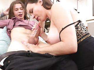 Amazing, Blowjob, Cowgirl, Dana Dearmond, Face Fucking, Handjob, Hardcore, Long Hair, MILF, Natural Tits,