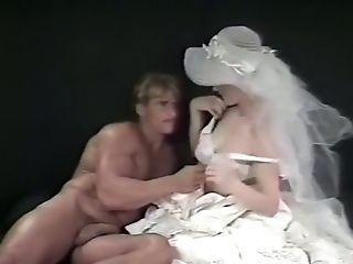 Big Tits, Blonde, Bride, Classic, Couple, Cunnilingus, Cute, Kissing, Sexy, White,