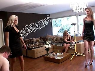 Blonde, Femdom, Foot Fetish, HD, Mistress, Polish, Submissive,