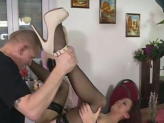 Beauty, Cute, Desk, Hardcore, Horny, Missionary, Slut, Stockings, Waitress,