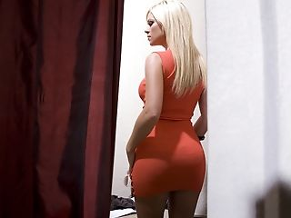 Ahryan Astyn, Big Tits, Blonde, Cute, Dick, Fingering, From Behind, Licking, MILF, Riding,