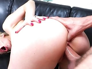 Amazing, Ashley Fires, Ass Fucking, Blonde, Bra, Couple, Glasses, Hardcore, Long Hair, MILF,