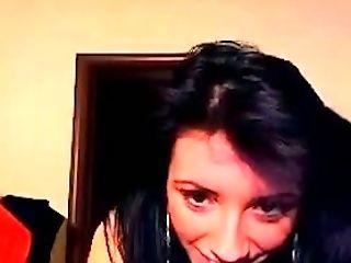 Brunette, Nymphomaniac, Slim, Solo, Webcam,